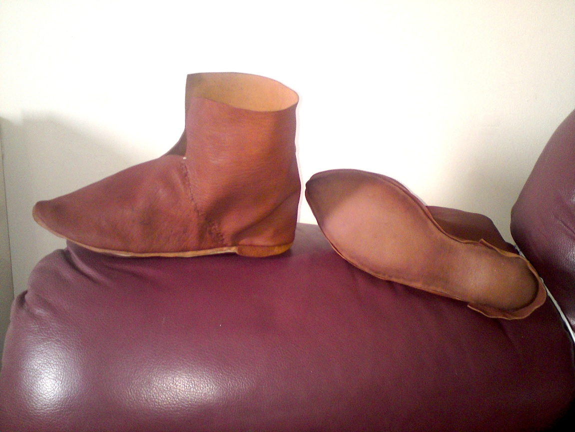 Resoled boots