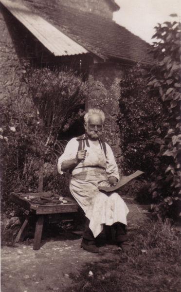 Unknown Cobbler - Lulworth, Dorset 1920's.jpg