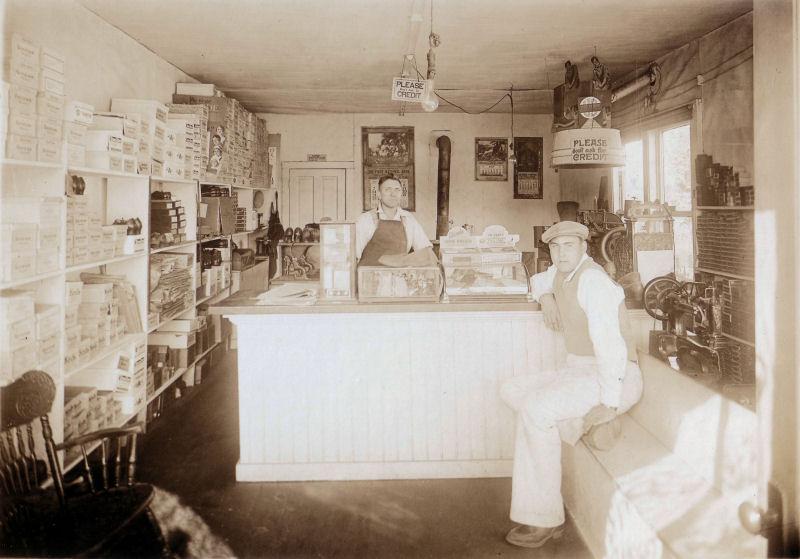 Unknown shop - Oregon 1931.jpg