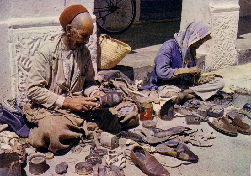 Street Cobbler - Houmt Souk, Island of Djerba, Tunisia - 1974.jpg