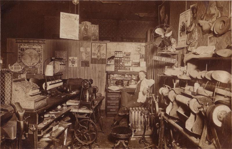Delmar Shoe Repairing Co. California 1914