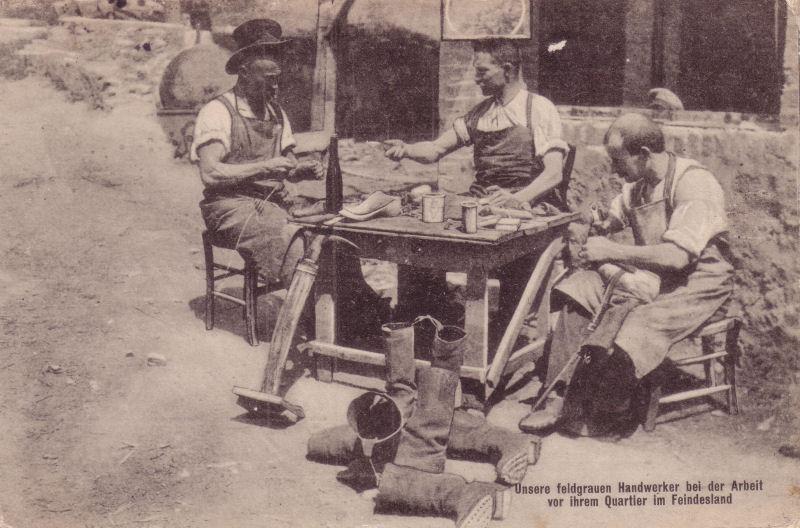 German Cobblers 1918