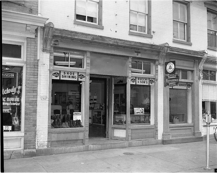 Bucchi & Sons   USA   1957   Shop Front