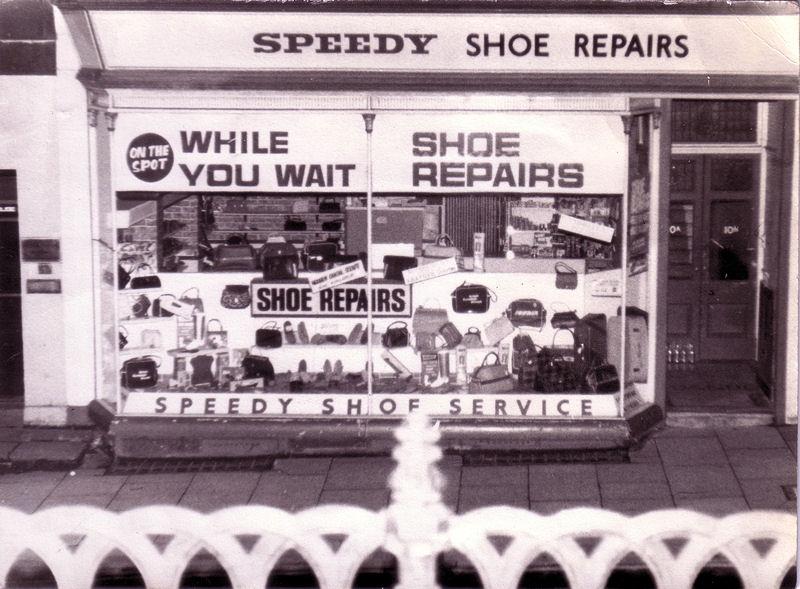 Speedy Shoe Repairs - George St, Bath - 1964.jpg