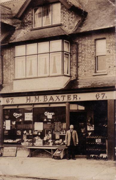 H M Baxter   Boot maker, UK