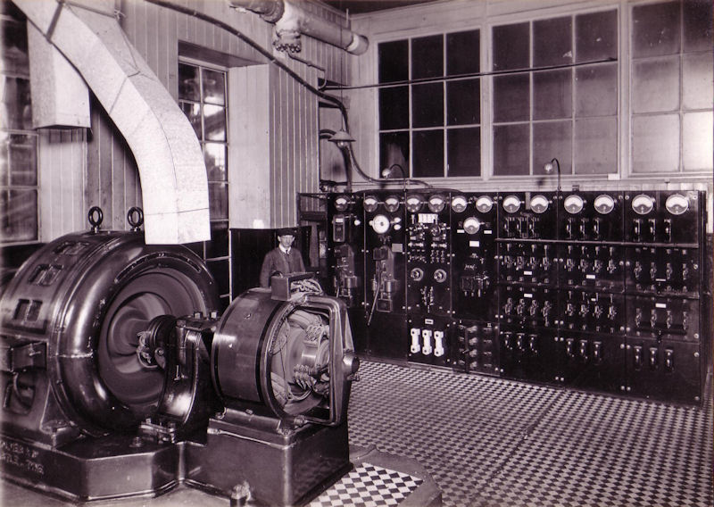 Alternator Room And Switchboard