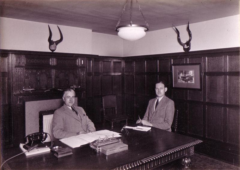 Harold C. Bolwell & Thornton A. Robinson Directors