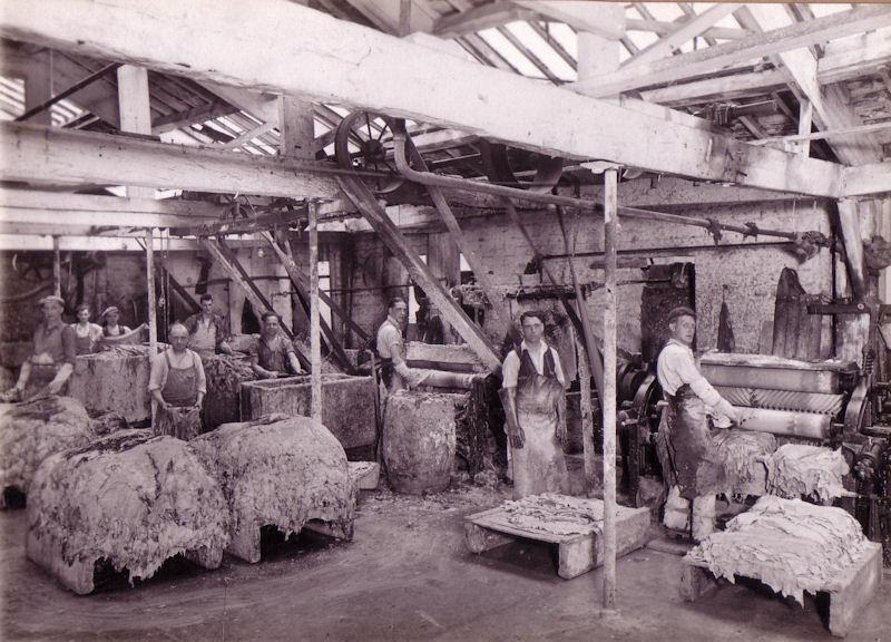 Goatskin Fleshing Room